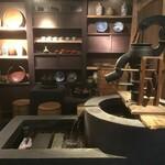 大地の贈り物 - 博物館の郷土展示のような雰囲気(2021.1.30)