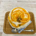 はいむる珈琲店 - ブラッドオレンジのレアチーズ 1,529円