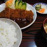 14961259 - トンカツ定食(700円)