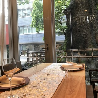半個室でのお食事をお楽しみください。