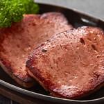 レバーケーゼのステーキ