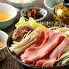 古民家レストラン らんたん - 料理写真:若狭牛すき焼きアップ画像