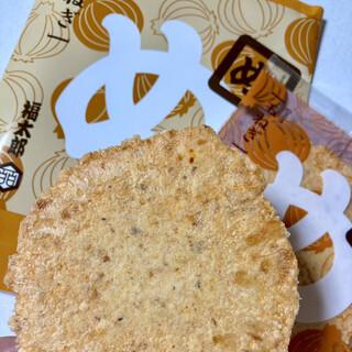 山口油屋福太郎 - 料理写真:めんべい「玉ねぎ」