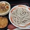 小平うどん - 料理写真:胡麻味噌担々麺&自家製メンチ