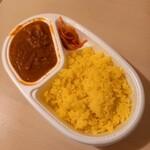インドレストラン ラム - カレー弁当(チキン/ライス) 540円