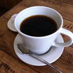 しまうまカフェ - コーヒーを付けました(420円から100円引き)