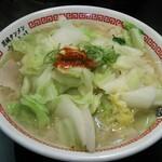 茨城タンメン カミナリ - 料理写真:タンメン (630円)+野菜増し(100円)+バター(100円)