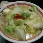 茨城タンメン カミナリ - バターをチョイス