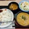 Matsuya - 料理写真:オマール海老ソースのクリームカレー生野菜セット