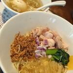 塩生姜らー麺専門店 MANNISH - 夏のアイツ