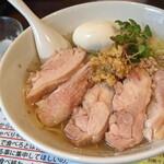 塩生姜らー麺専門店 MANNISH - 原点回帰(肉増し)