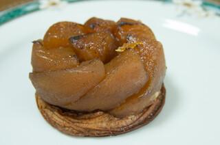 ブーランジュリー&カフェ グウ - リンゴのタルト