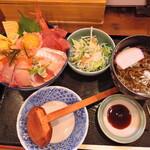 味福 - 並海鮮丼ランチ