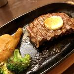 重蔵 - 馬肉のステーキ