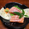 割烹 佐吉 - 料理写真:ビワマス刺身