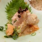 上州屋 - 料理写真:ウマヅラハギ肝あえ