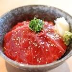 板前寿司 - 本まぐろ漬け丼
