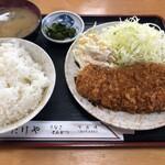 たけや - 料理写真:ロースカツ定食(850円)