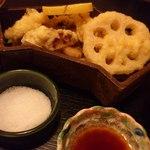 まつ岡 - 天ぷら