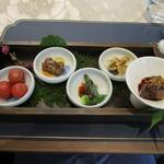蟹王府 - 前菜5種類