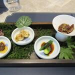 蟹王府 - 前菜4種類