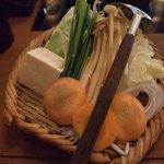 しゃぶしゃぶ 温野菜 - 国産野菜盛り