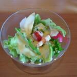 ガンツウ - 料理写真:せとうち野菜のサラダ