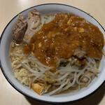 蒙麺 火の豚 - フュージョン  800円
