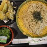 そば・うどん 扇庵 - 料理写真:甲斐舞茸の天ざるそば