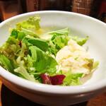 キッチン櫻庭 - 中からポテサラが!