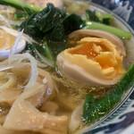 ラーメン ソレナリ - 鶏そば(醤油)  800円 味玉 80円(今だけ)