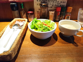 キッチン櫻庭 - スープとサラダ