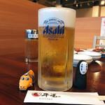 焼肉牛星 - ドリンク写真:生ビールは普通です