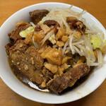 ラーメン二郎 - 料理写真:「持ち帰り」700円