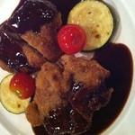 丹華麗 - 豚ヒレ肉のコークレット バルサミコソース