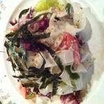 丹華麗 - 鯖と大根のサラダ