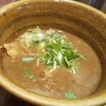 ベジポタつけ麺えん寺 - ベジポタ煮干じめつけ麺