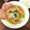 麺屋 遊仁 - 料理写真:蛤塩そば 980円