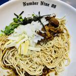 麺ダイニング ナンバーナイン 09 - 和えそばブラック