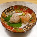 祇園 寿司六 - ☆牡丹海老&白身に縁側楽しめます☆