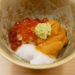 祇園 寿司六 - ☆キラキラいくらちゃんのミニ丼☆