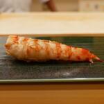 祇園 寿司六 - ☆車海老は備長炭でジュージュー☆