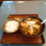 八平の食堂 - ライス アリランチャーシュー