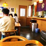 いずみや - いずみや 本店 @佐野 店内テーブル席