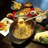 囲炉里庵 花水木 - 料理写真:郷土料理ずりあげうどんのコース料理
