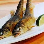 東日本橋 かどわき - 料理写真:鮎の塩焼き