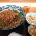 14970935 - A 高菜麺 チャーハンセット \600