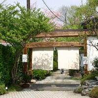 囲炉里庵 花水木 - 花水木の入口(旅館・長生館の離れです)