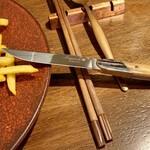 149701892 - ステーキにバッファローナイフ