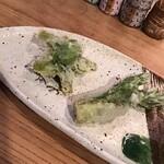 149704835 - ◆ 旬焼魚 厳選季節野菜コース ¥2,750                         天ぷら